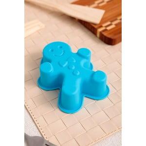 Silikonová formička Cookie Man, 2 ks, tyrkysová