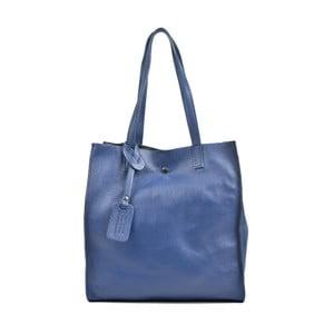 Modrá kožená kabelka Isabella Rhea Leslie