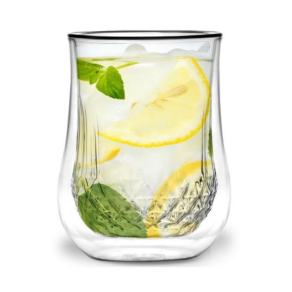 Sada 2 dvojstených pohárov Vialli Design Tinna, 300 ml