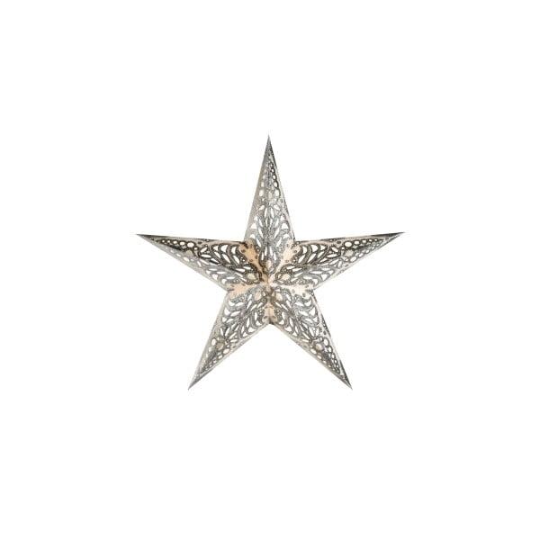 Dekorativní hvězda Geeta Silver, 60 cm