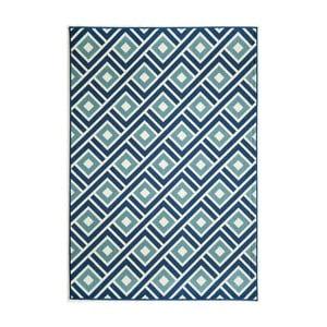 Modrý koberec Nourison Baja Arequipes, 229 x 160 cm