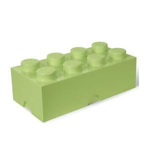 Světle zelený úložný box LEGO®