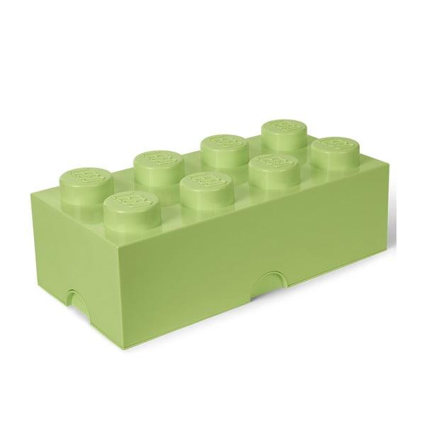 Cutie depozitare LEGO®, verde deschis