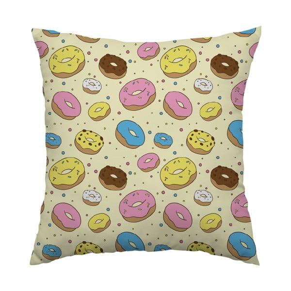 Polštář Donut Lover, 40x40 cm