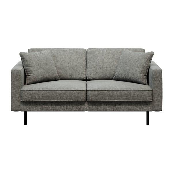 Canapea cu 2 locuri MESONICA Kobo, gri