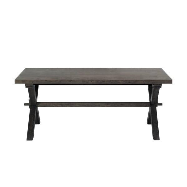 Jídelní stůl Cross Smoked, 240x100 cm