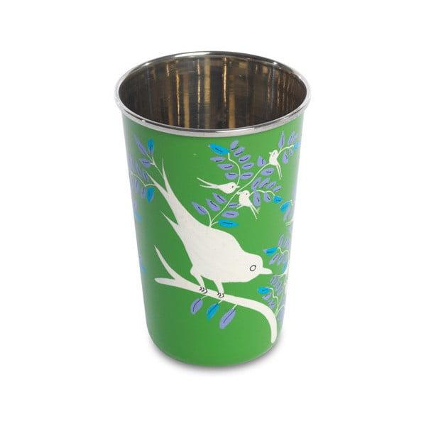 Hrnek Eva Hand Painted Cup, zelený