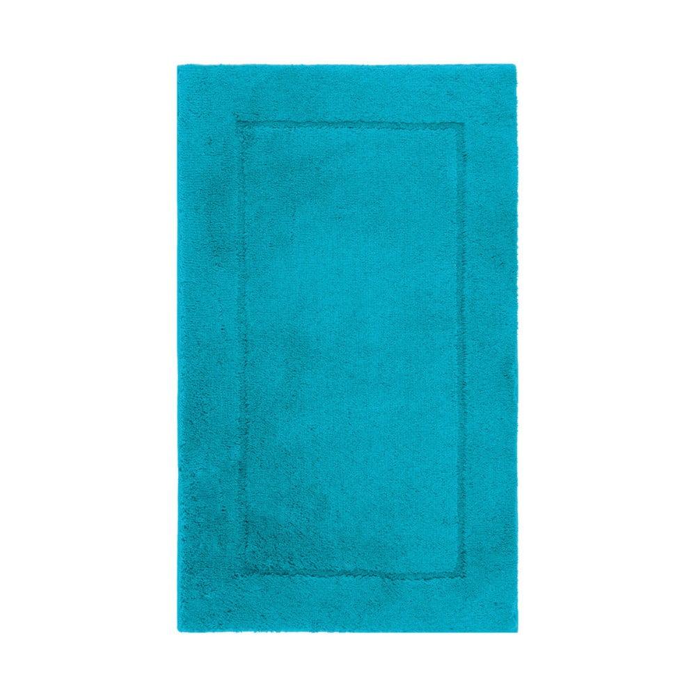 Modrá koupelnová předložka Aquanova Accent, 60 x 100 cm