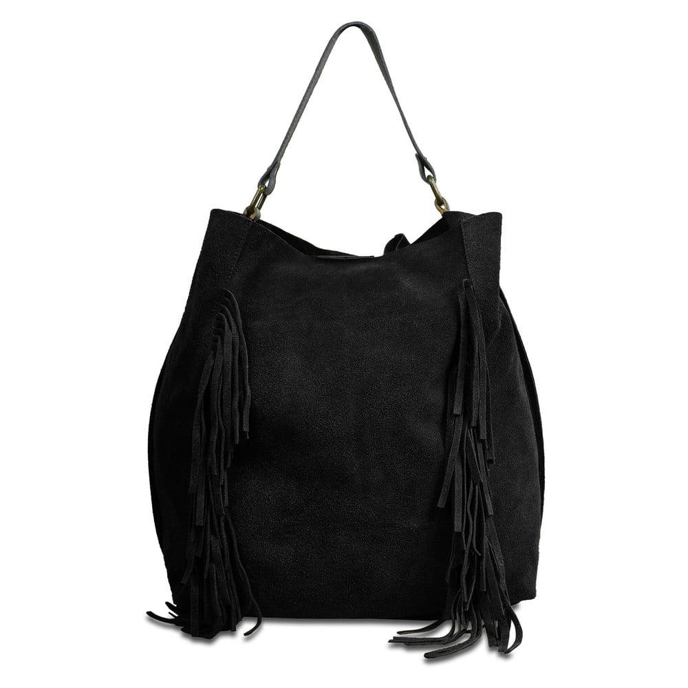 Černá kožená kabelka Infinitif Kiona 710a166c4bc