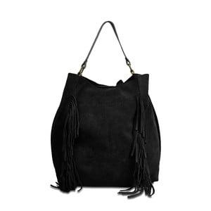 Černá kožená kabelka Infinitif Kiona