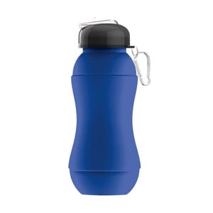 Revoluční sportovní lahev Sili-Squeeze, modrá, 700 ml