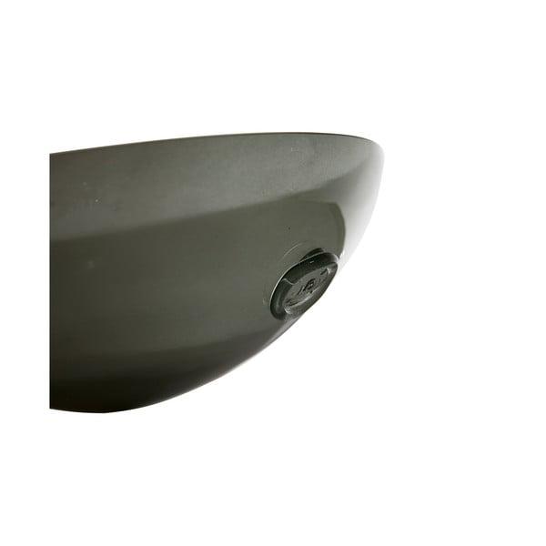 Skleněná mísa Gie El 28 cm, kouřová