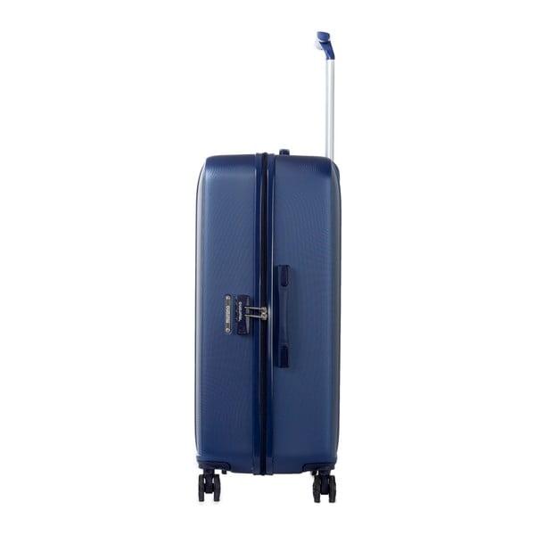 Sada 3 modrých cestovních kufrů na kolečkách Murano Africa