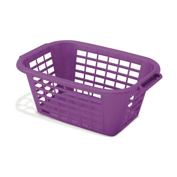 Coș de rufe Addis Rect Laundry Basket, 40 l, mov