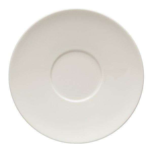 Biały porcelanowy spodek Like by Villeroy & Boch Group White, 16 cm