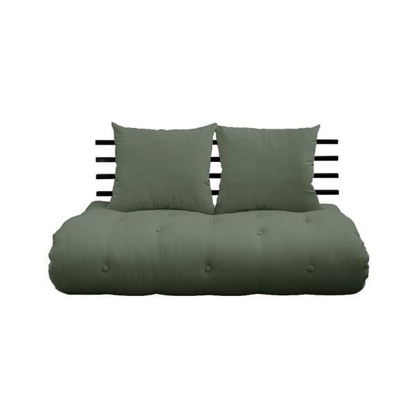 Variabilní pohovka Karup Design Shin Sano Black/Olive Green