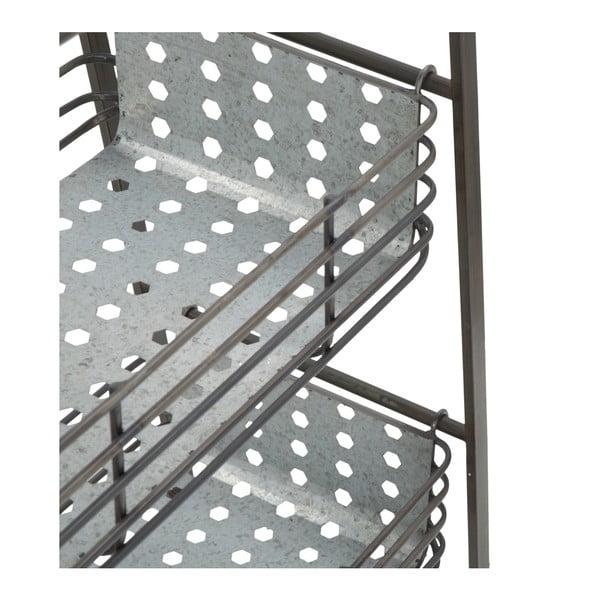 Kovová knihovna Mauro Ferretti Stairs