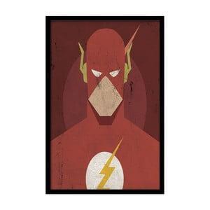 Plakát Red Flash, 35x30 cm