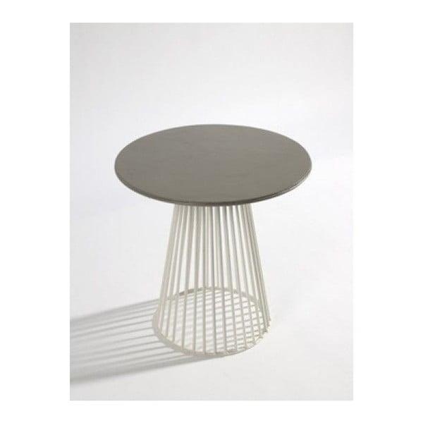 Šedý odkláfací stolek Serax Bistrot Garbo, ⌀60cm