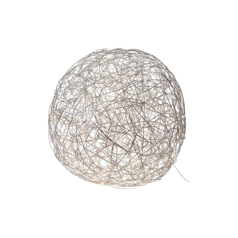 Venkovní světelná LED dekorace z nerezové oceli BestSeason Light Trassel, 200 světýlek