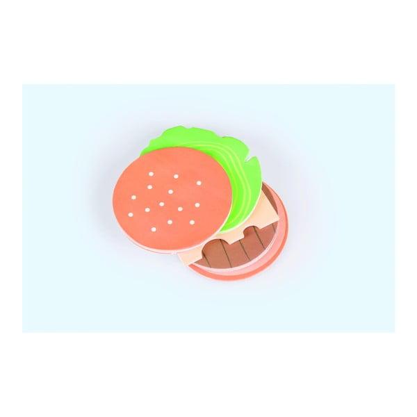 Poznámkový bloček DOIY Burger Notes