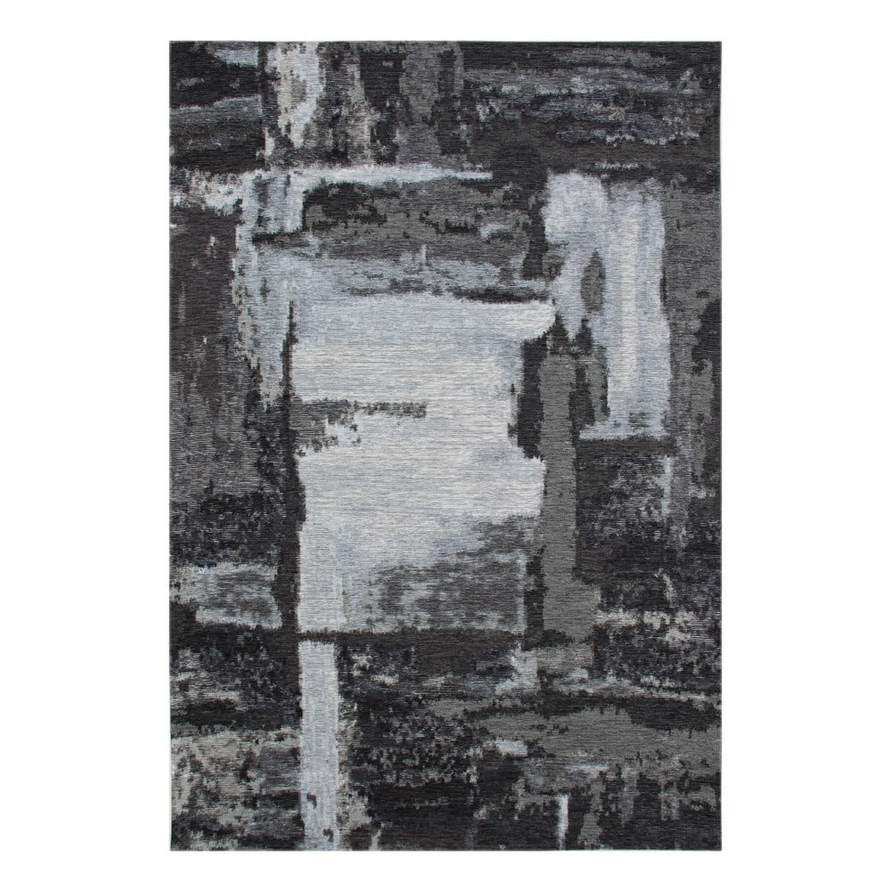 Šedý koberec Eco Rugs Xavy, 135x200cm