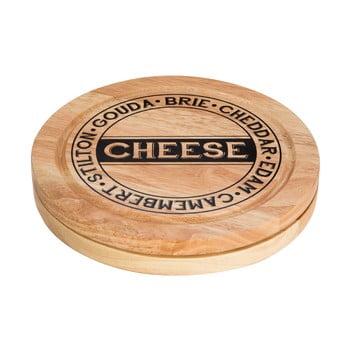 Set tocător pentru brânzeturi cu compartiment pentru stocare și 4 cuțite Premier Housewares de la Premier Housewares