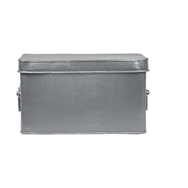 Kovový úložný box LABEL51 Media, šířka 27cm