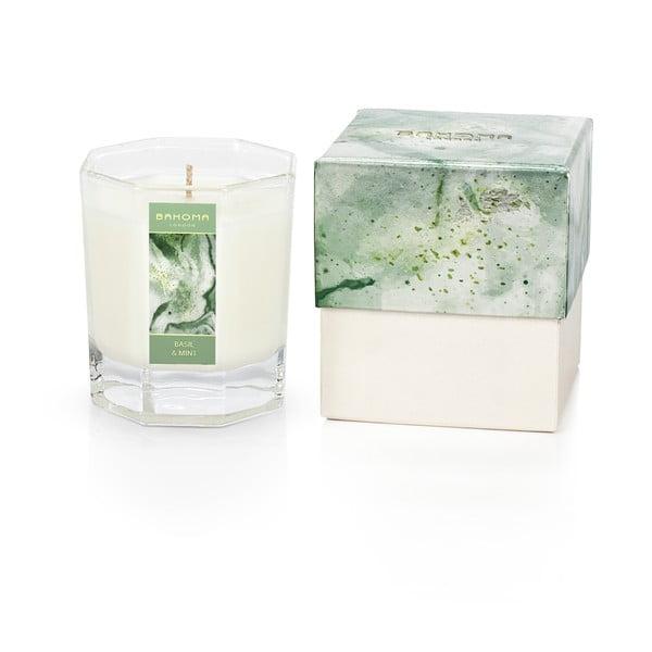 Vonná sviečka v škatuľke s vôňou ľalie a jazmínu Bahoma London Octagonal Candle in Rigid Box