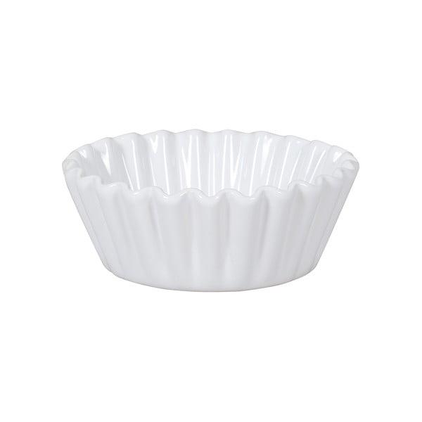 Čtyři formy na košíčky Mini Pie 13 cm, bílá