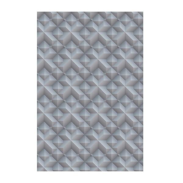 Koberec z vinylu Origami Gris, 99x150 cm
