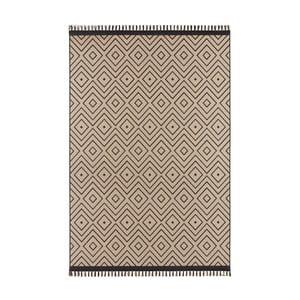 Béžovočerný koberec Hanse Home Intense Sulo, 160 x 230 cm