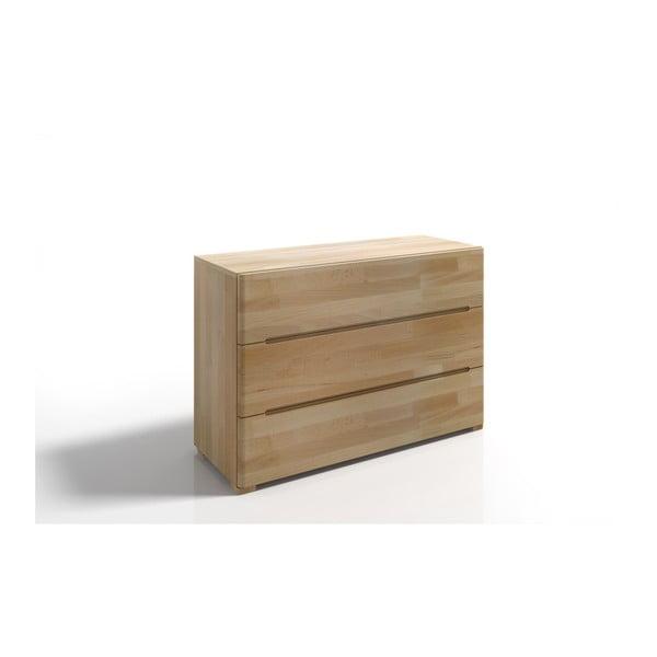 Comodă din lemn de fag cu 3 sertare SKANDICA Sparta