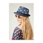 Pălărie din paie pentru damă Alexander McKensey Lake, albastru închis