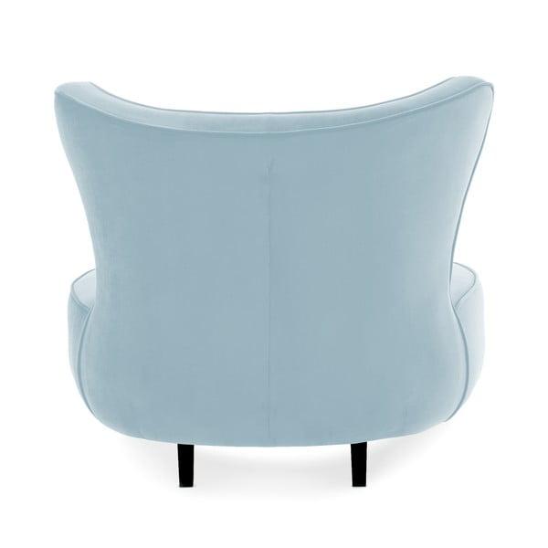 Světle modré křeslo Vivonita Douglas Love Seat