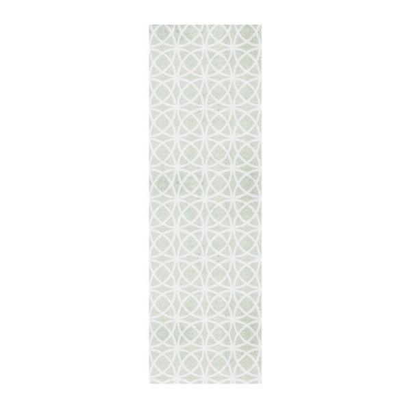 Zelený běhoun Hanse Home Magic Ornament, 50x150cm