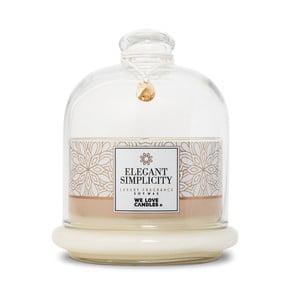 Svíčka ze sójového vosku We Love Candles Elegant Simplicity, doba hoření 72 hodin