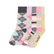 Sada 5 párů barevných ponožek Funky Steps Andrea, vel. 35-39
