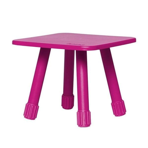 Růžový multifunkční stolek Fatboy Tablitski