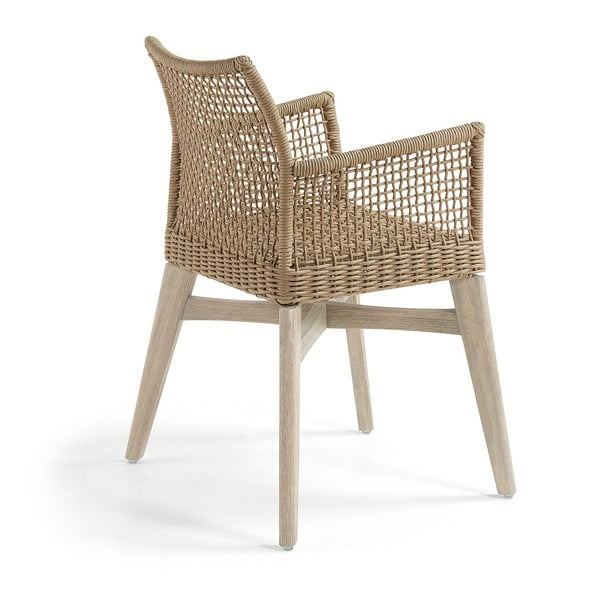 Sada 2 béžových židlí La Forma Rodini