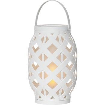 Felinar Best Season Flame Lantern, 15 x 23 cm, alb imagine