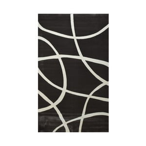 Tmavě hnědý koberec Webtappeti Round, 160x230cm