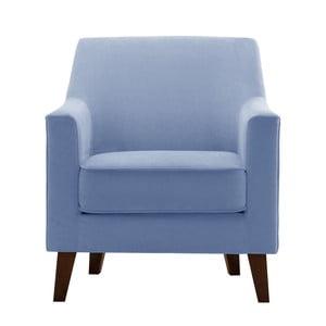 Blankytně modré křeslo Jalouse Maison Kylie