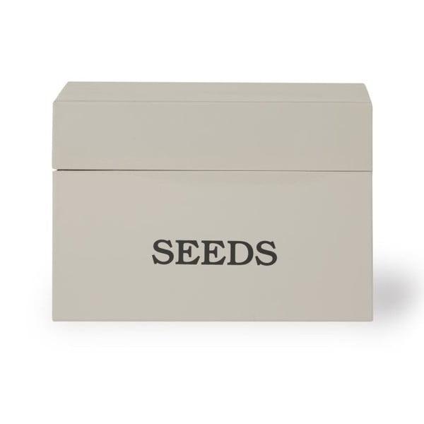 Box na semínka Large Seeds Beige