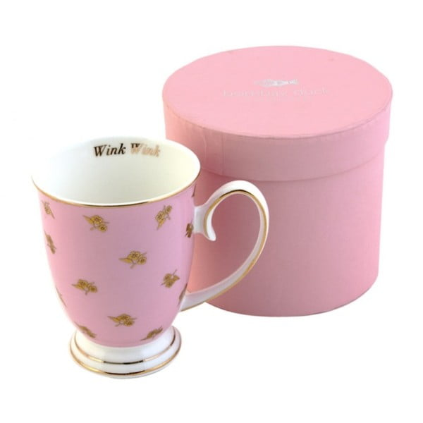 Hrnek v   dárkové krabičce Miss Petticoat Pink