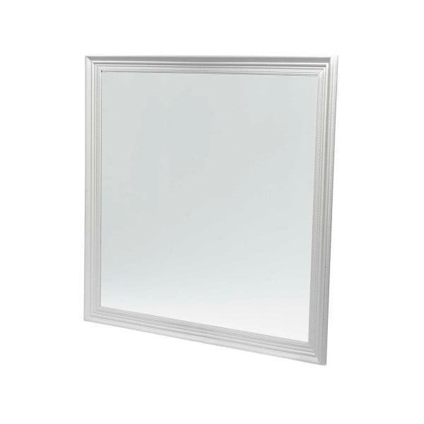 Bílé nástěnné zrcadlo Furnhouse Mirror,109x109cm