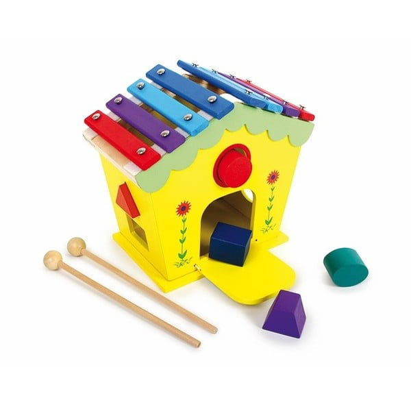 Jucărie din lemn muzicală Legler Dodoo