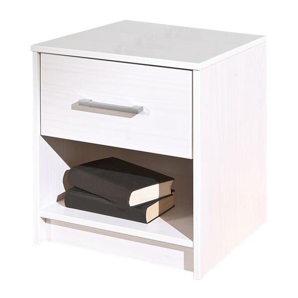 Bílý noční stolek 13Casa Color