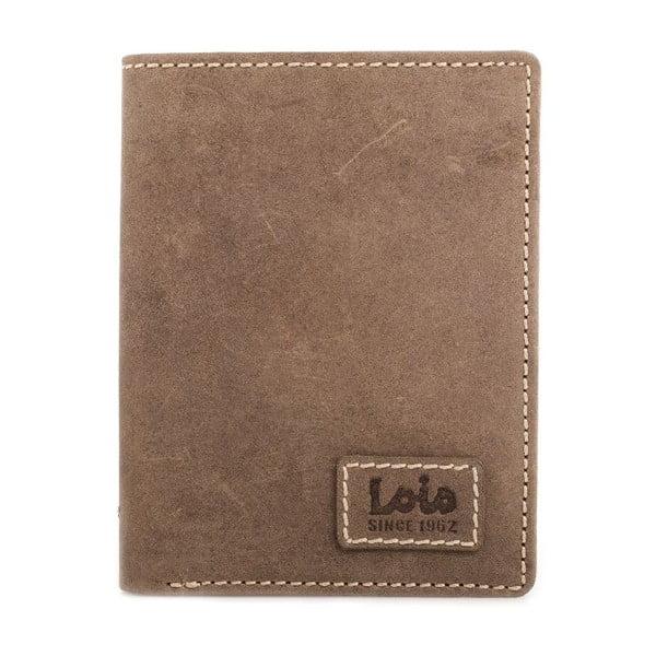 Kožená peněženka Lois Simple, 11x8 cm