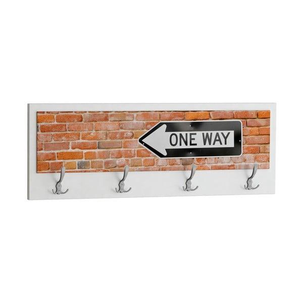 Věšák One Way, bílý